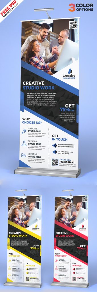 Corporate-Roll-Up-Banner-Free-PSD-Set-Preview