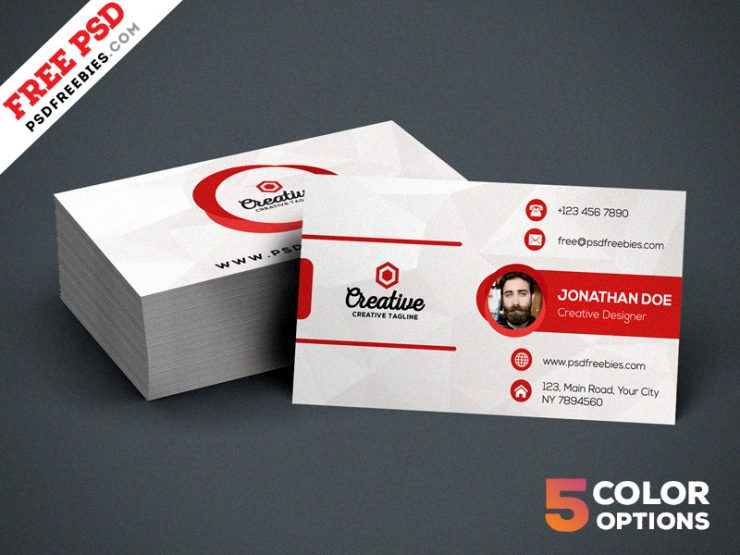 Creative Business Card PSD Bundle