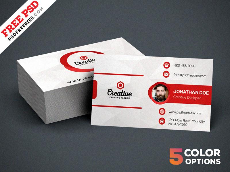 Creative Business Card PSD Bundle