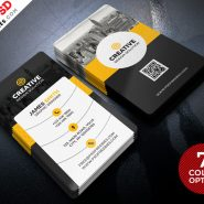 Creative Business Cards Templates PSD Bundle