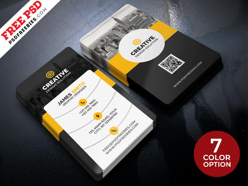 Creative Business Cards Templates Psd Bundle Psdfreebies