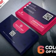 Free Business Cards Templates PSD Set
