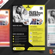 Multipurpose Corporate Flyer Free PSD Set