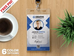 Office Identity Card Design PSD Bundle