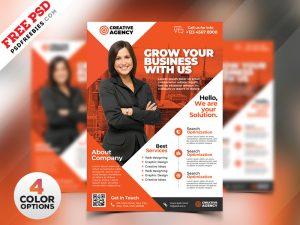 Business Flyer Design Templates PSD