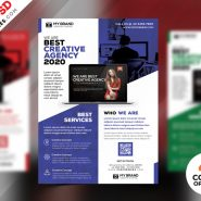 Corporate Flyer Design Free PSD