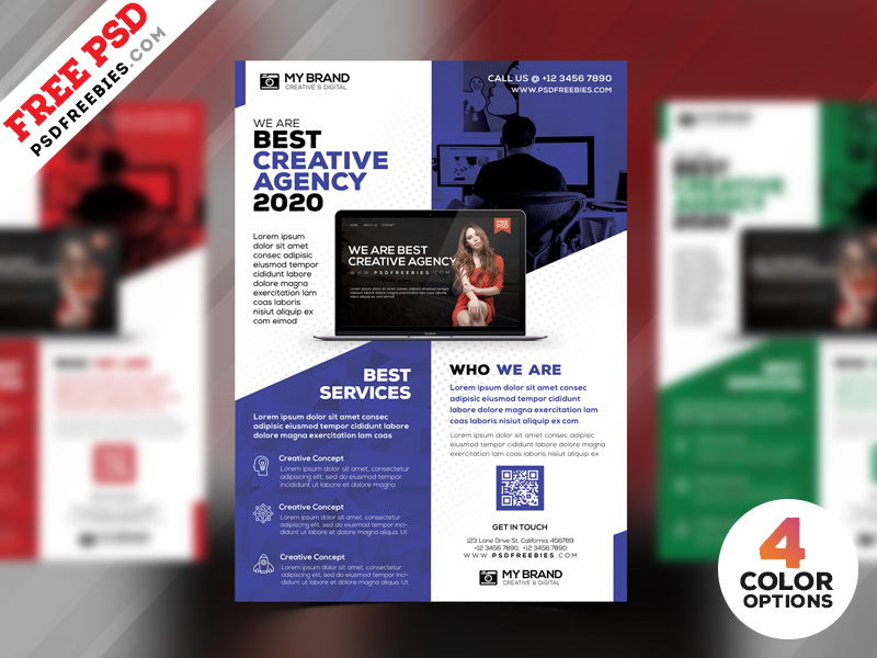 corporate flyer design free psd psdfreebies com