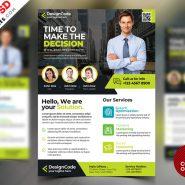 Corporate Flyer Design Templates Free PSD