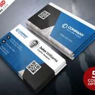 Creative Business Card Design PSD Set