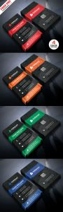 Free Creative Business Card Design PSD Bundle