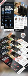 Conference Promotion Flyer Design PSD