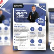 Corporate Business Flyer Design PSD Bundle