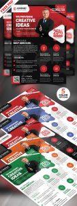 Corporate Business Flyer Design PSD Bundle