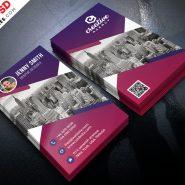 Creative Business Card Design Free PSD