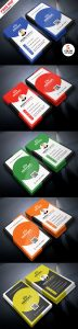 Creative and Clean Business Card PSD