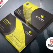 Business Card Template PSD Set