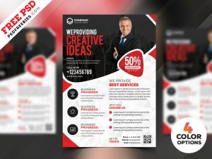 Business Marketing Flyer Templates PSD