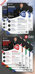 Business Marketing Flyer Templates PSD