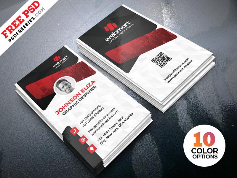 Creative Business Cards Design PSD