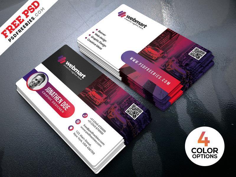 Modern Business Card Designs PSD