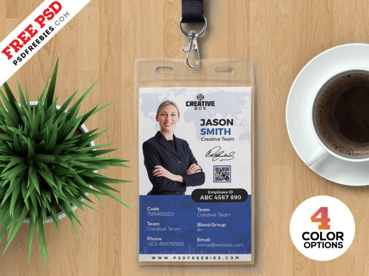 Photo Identity Card PSD Bundle