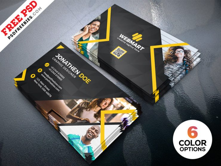 Business Card Templates PSD Bundle
