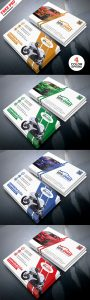 Auto Repair Business Card Template PSD