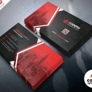Creative Business Cards Design Free PSD