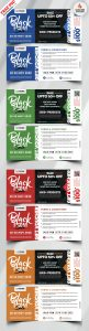 Black Friday Sale Voucher Design PSD