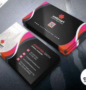 Corporate Business Card PSD Templates