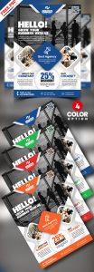 Creative Agency AD Flyer PSD