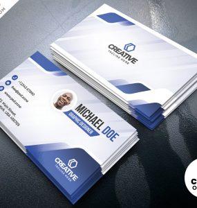 Creative Business Card Designs Free PSD