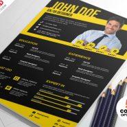 Designer CV Resume Templates PSD