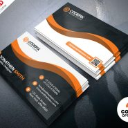Modern Business Card Designs Template PSD