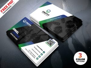 PSD Business Card Design Template