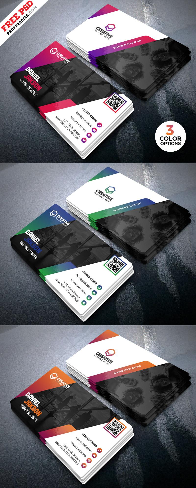 PSD Business Card Design Template