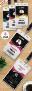 PSD Corporate Employee ID Card Design