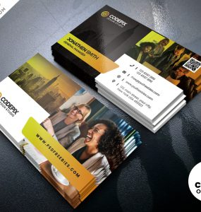 PSD Creative Business Cards Design Template