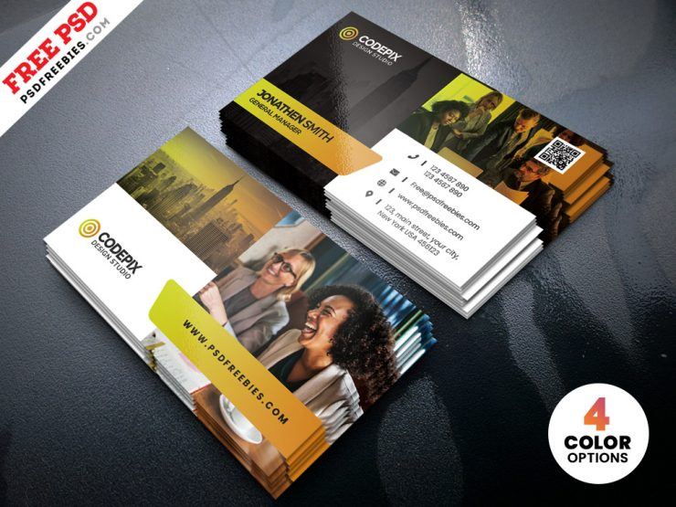 PSD Creative Business Cards Design Template