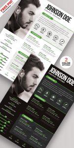 PSD Creative Resume Design Templates