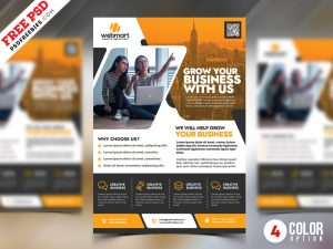 PSD Multipurpose Business Promotion Flyer Template