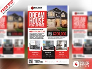 PSD Real Estate Flyer Templates
