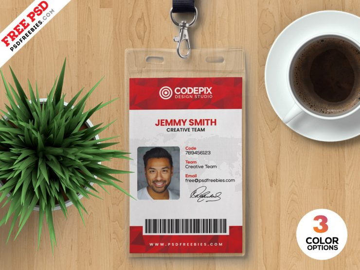 Creative Identity Card Design Template PSD