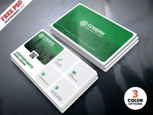 PSD Corporate Business Card Design