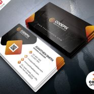 PSD Modern Corporate Business Card Templates