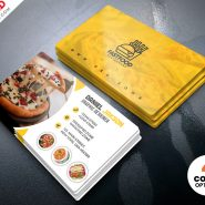PSD Restaurant Business Card Design Templates