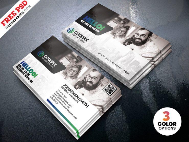 Premium Business Cards Templates Design PSD