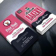 Bakery Shop Business Card PSD