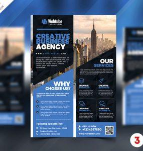 Business Promotion AD Flyer Design PSD