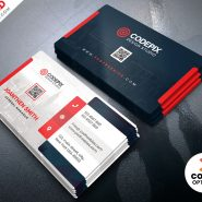 PSD Clean Business Card Design Templates